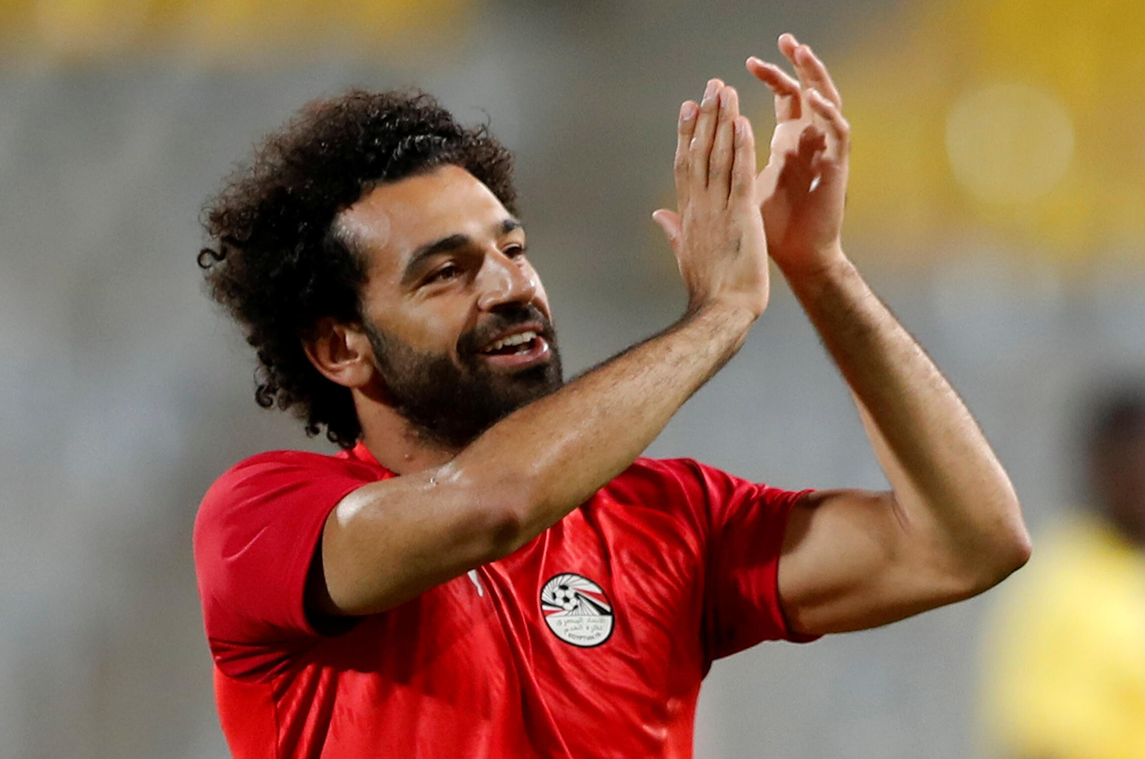 Mo Salah is seeking his first Africa Cup of Nations title with Egypt.