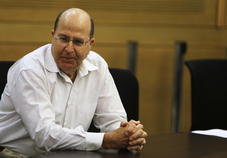 Moshé Yaalon, ministre de la Défense d'Israël.