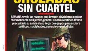 La revista  SEMANA reveló en Colombia un nuevo escandalo de escuchas ilegales llevadas a cabo por le Ejército a magistrados, politicos y periodistas..
