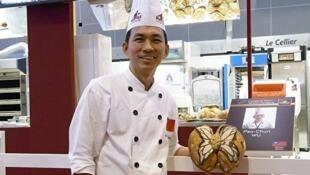 圖為麵包世界冠軍台灣麵包大師吳寶春