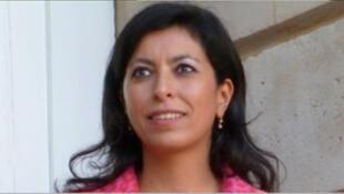 Leila Aïchi, sénatrice écologiste de Paris, vice présidente de la Commission des Affraires étrangères et de la Défense au Sénat.  .