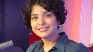 La violoncelista y cantante cubana Ana Carla Maza en RFI