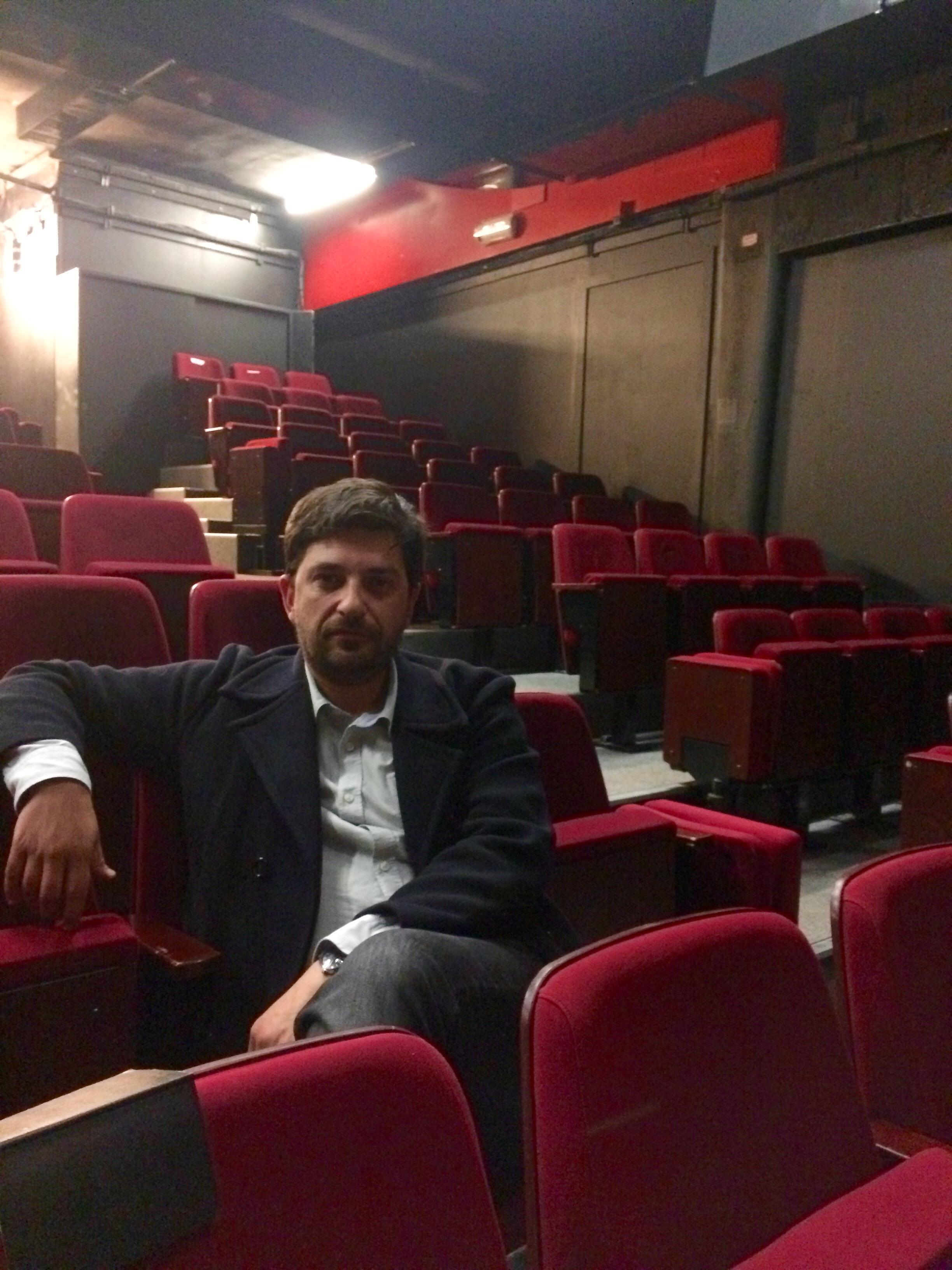 Encenador e director artístico do Teatro Nacional D.Maria II,Tiago Rodrigues