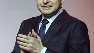 Дмитрий Рыболовлев во время празднования окончания сезона 2012/2013 г. в Монако 31/05/2013
