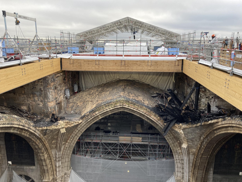 En las obras de Notre-Dame, dos años después del incendio - Francia hoy