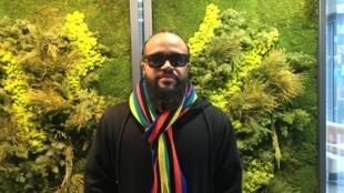"""Wellington Gadelha apresenta o espetáculo """"Gente de Lá"""", que faz parte da programação do festival Panorama 2020, em Pantin, periferia de Paris"""