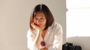 中国女权活动人士、独立记者黄雪琴资料图片