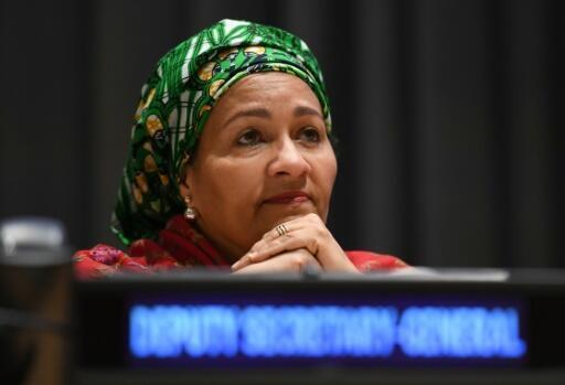La secretaria general adjunta de Naciones Unidas, Amina Mohammed, el 8 de marzo de 2017 en la sede de la ONU wn Nueva York