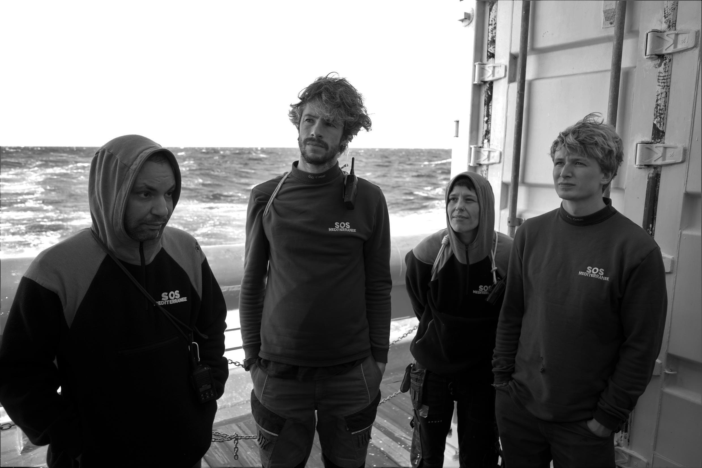 Pour les marins sauveteurs, le mauvais temps complique les opérations de secours. Crédit : Guilhem Delteil / RFI