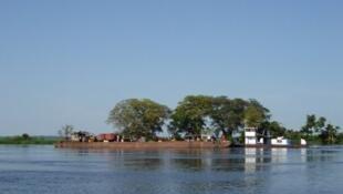 Ziwa Mai-Ndombe , DRC, ambapo watu 15 walikufa maji baada ya boti kuzama.