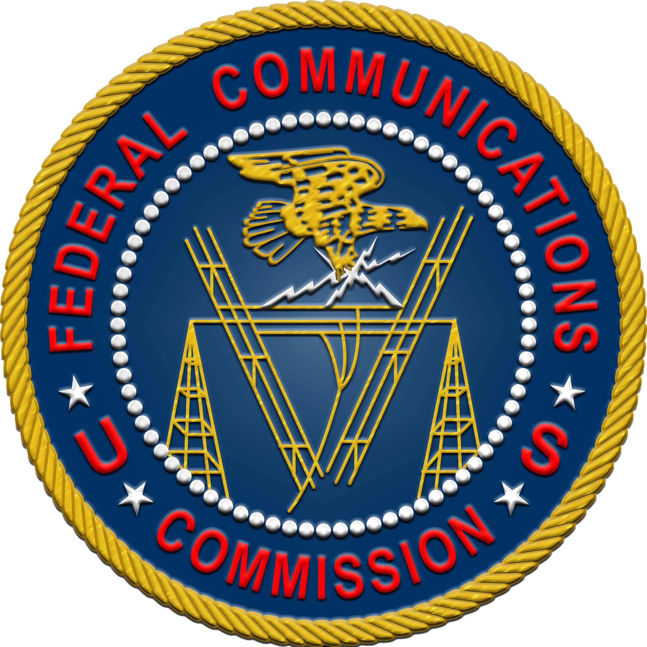 Logo của Tiểu ban Viễn thông Liên bang Hoa Kỳ (Federal Communications Commission – FCC)