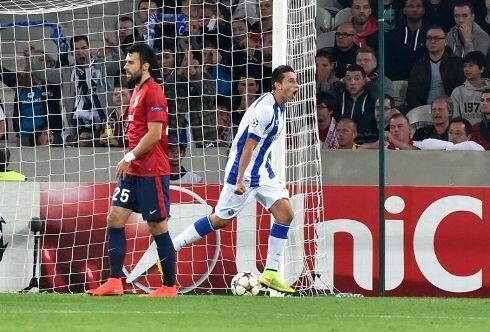 Lille perdeu 1-0 frente ao FC Porto nos acesso à Liga dos Campeões no passado 20 de Agosto de 2014.