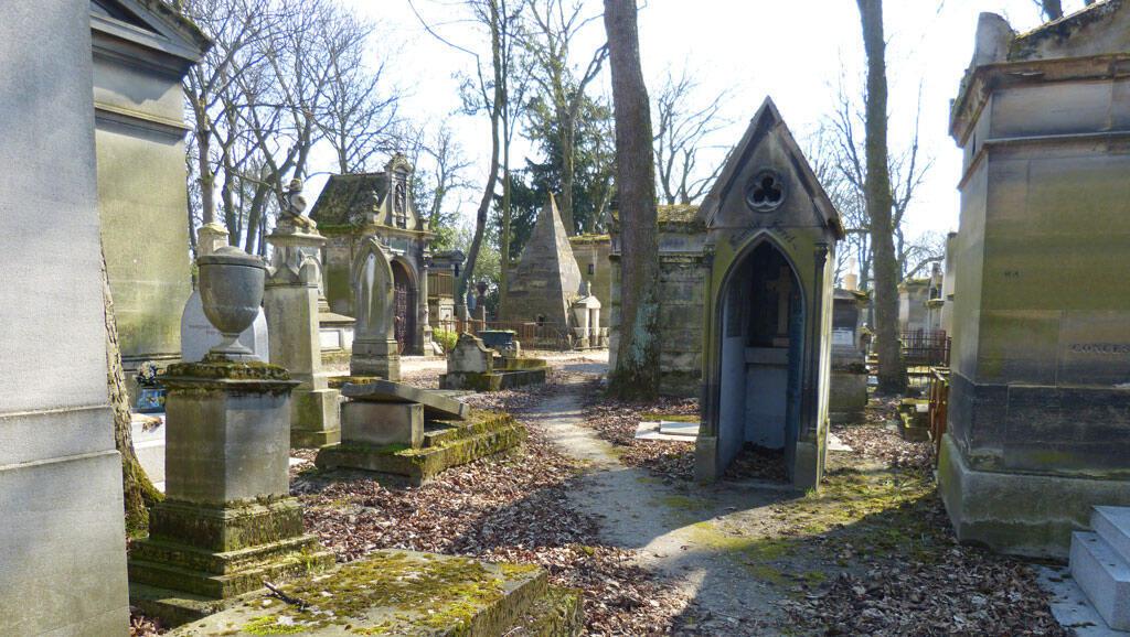 El cementerio del Père-Lachaise.