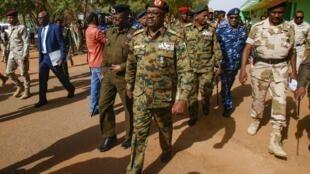 Le général Jamal Omar, membre du Conseil militaire de transition, le 4 juillet 2019.