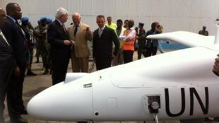 Drone de l'ONU à Goma.