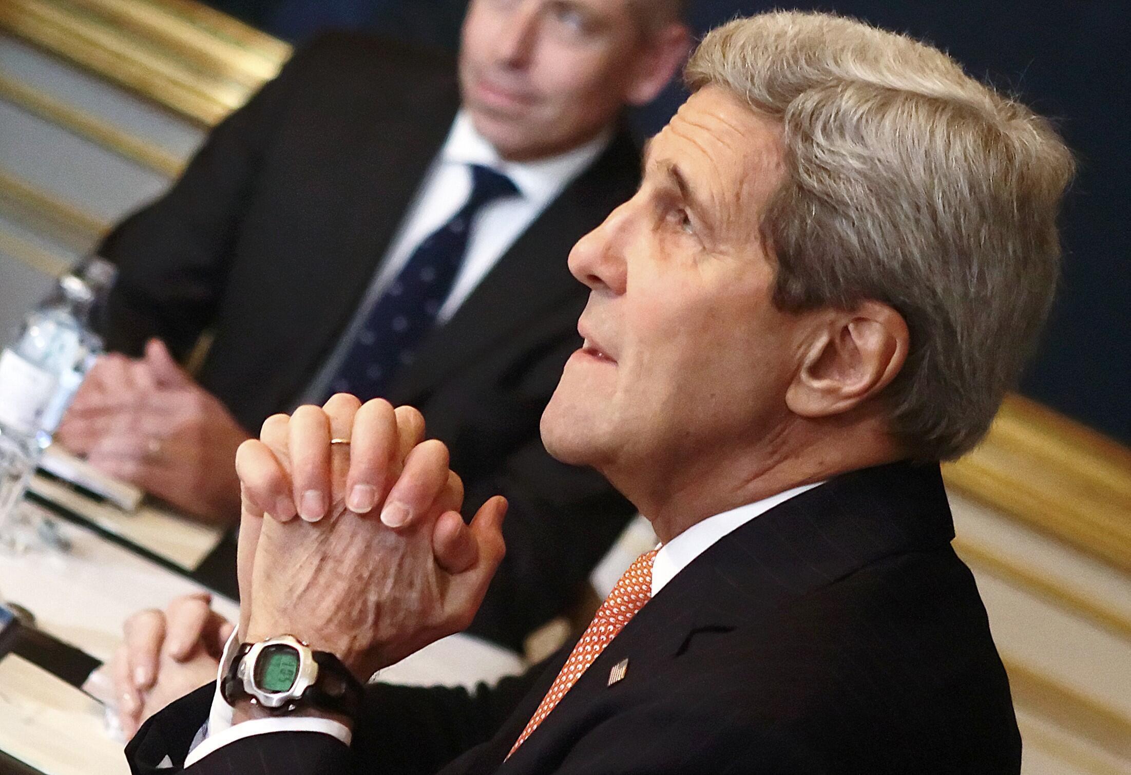 John Kerry à Vienne, le 22 novembre 2014.