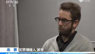 """在中國中央電視台""""認罪""""的瑞典人權人士彼得.達林"""