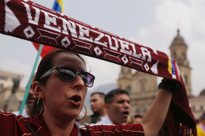 Manifestation de soutien à Juan Guaido, Caracas, le 2 février 2019.