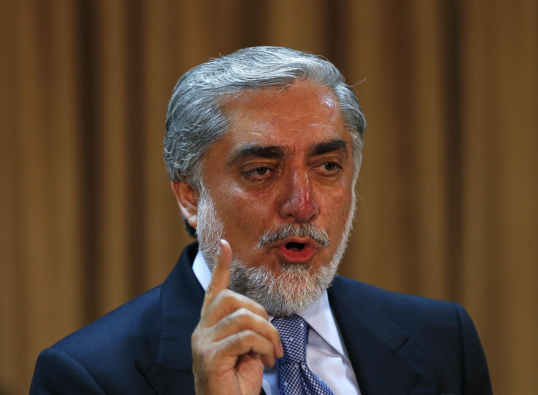 Abdullah Abdullah mgombea kiti cha urais nchini Afghanistani akidai kuwa uchaguzi uligubikwa na wizi.