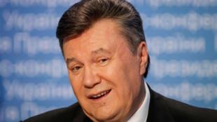 Ảnh tư liệu: Cựu tổng thống Ukraina Viktor Ianoukovitch