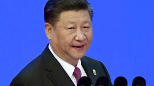 圖為中國國家主席習近平2018年4月10人在中國海南博鰲亞洲經濟論壇