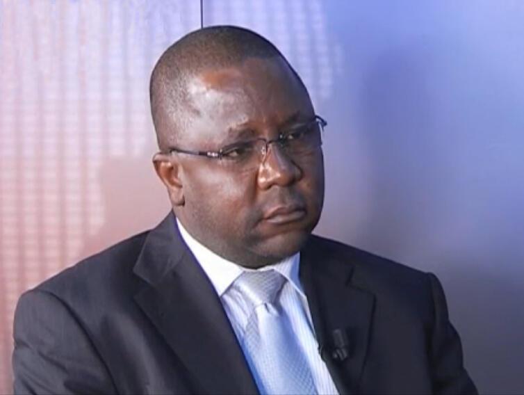 Jean-Bernard Padaré, porte-parole du Mouvement patriotique du salut (MPS).