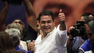 Rais wa Honduras, Juan Orlando Hernández.