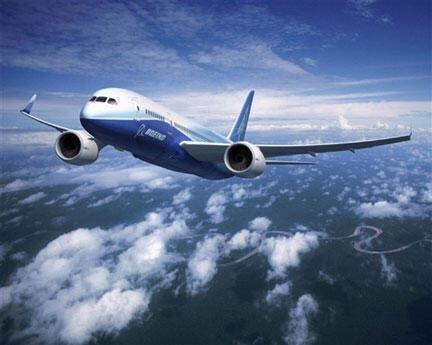 Le Boeing 787 Dreamliner est un avion léger révolutionnaire construit principalement des composites de carbone conçus pour économiser du carburant.