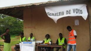 Wata Runfar zabe a Guinea Bissau