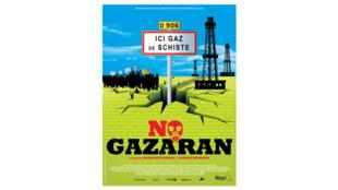 L'affiche du film «No gazaran» actuellement au cinéma.