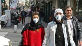 À Téhéran (Iran).