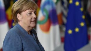 Shugabar Jamus, Angela Merkel.