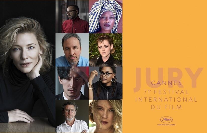 Los miembros del jurado del Festival de Cannes 2018.