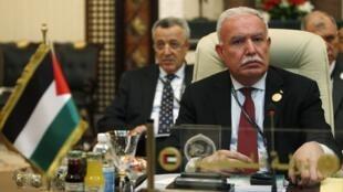 Palestinian Foreign Affairs Minister Riyad al-Malki