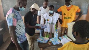 Bénin - Cotonou - Cadjehoun - dépouillement - vote - présidentielle - 2021