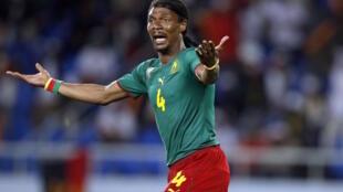 Mchezaji wa zamani wa Cameroon, Rigobert Song.