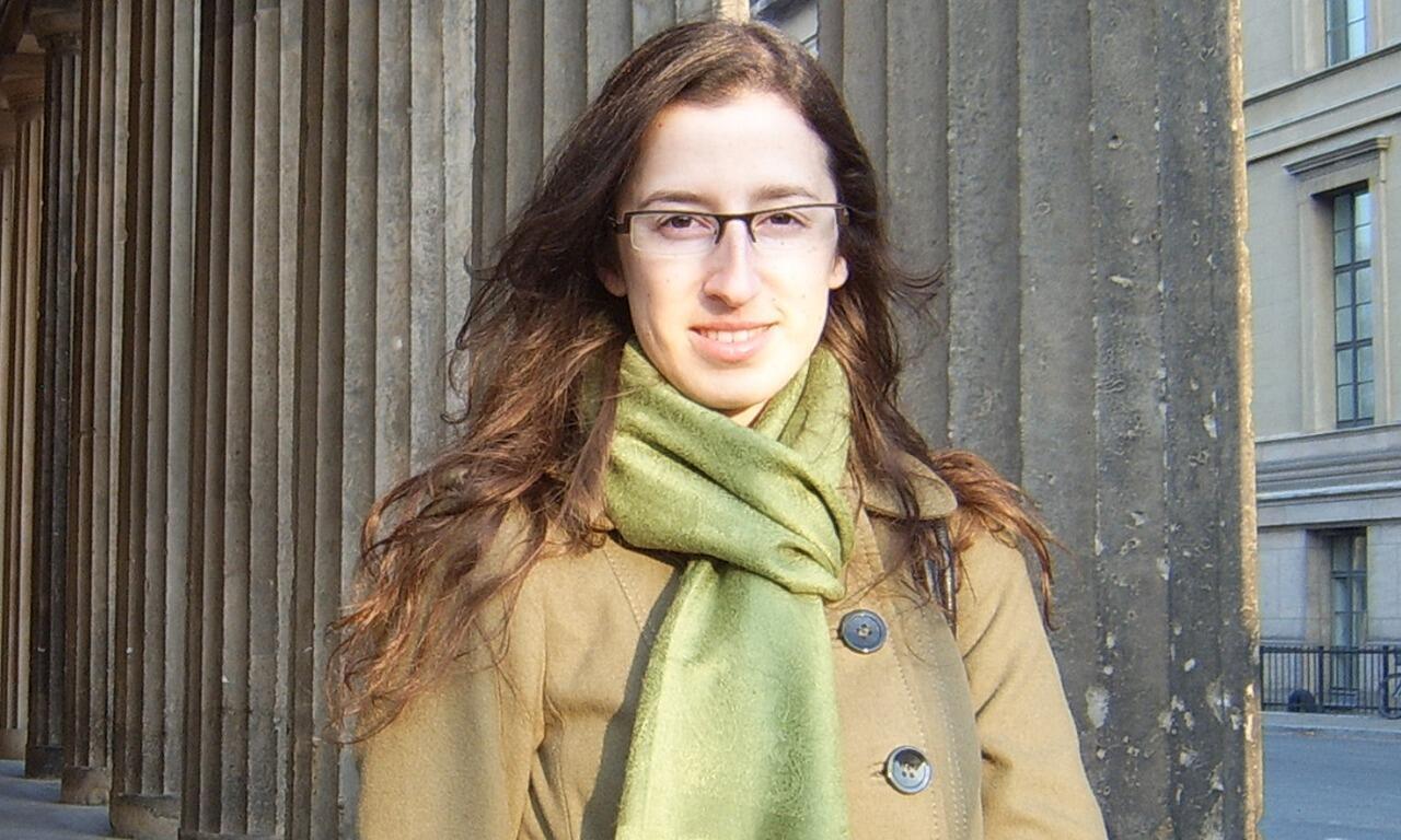 A cineasta Cristiane Oliveira.