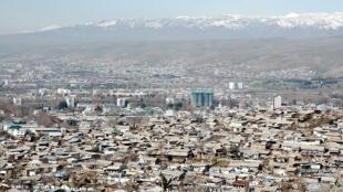 Panorama de Douchanbé.