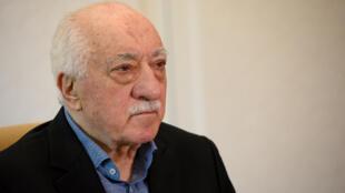 Mhubiri wa Uturuki Fethullah Gülen, ambaye sasa yuko uhamishoni nchini Marekani, hapa ilikuwa Julai 10, 2017 nyumbani kwake huko Pennsylvania.