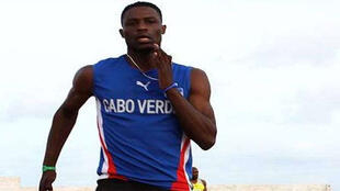Gracelino Barbosa, medalha de bronze nos 400 metros barreiras, categoria T20