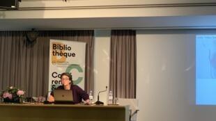 Chloé Buire, investigadora francesa do Laboratório Áfricas no Mundo
