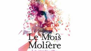 Афиша фестиваля «Месяц Мольера». Этот театральный фестиваль проходит в Версале  ежегодно с 1 по 30 июня.