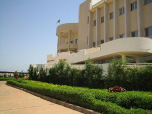 Iniwersite (duɗal mawngal) Bamako, Mali.