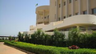 Le bâtiment de l'université de Bamako, Mali.