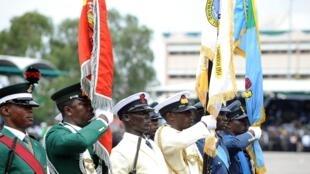 Abuja, 1er octobre 2010. Cérémonie du 50ème anniversaire de l'indépendance du Nigeria.