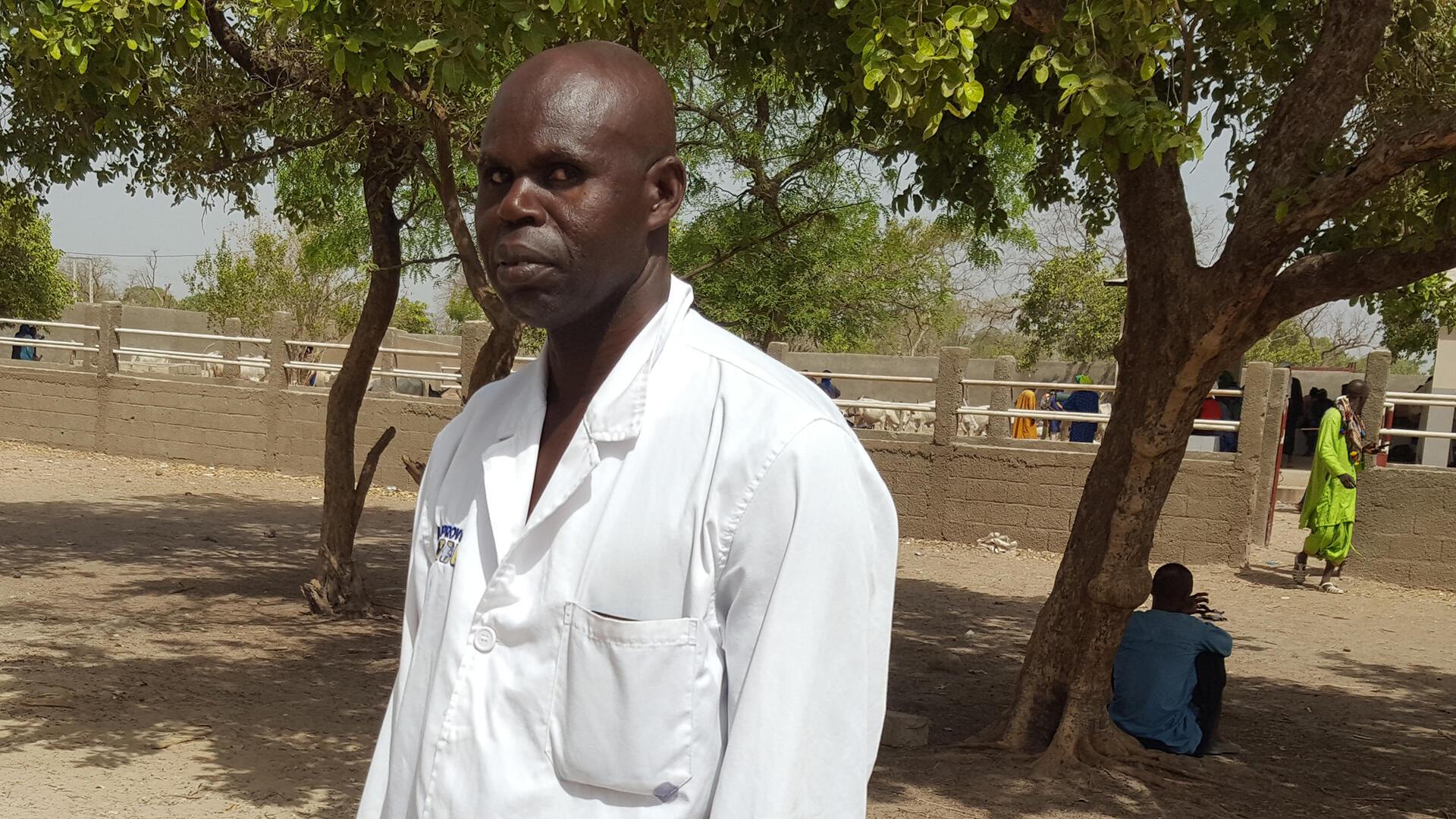 Sénégal - Docteur Mamadou Traoré, chef de poste vétérinaire de Malem Niani, dans le département de Koumpentoum - Le coq chante 11 juillet 2021