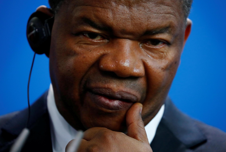 João Lourenço, presidente de Angola.