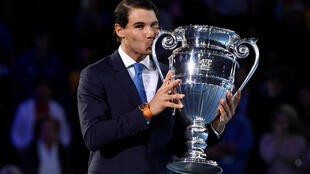 Rafael Nadal finished at the top of the rankings on 31 December in 2008, 2010 and 2013.