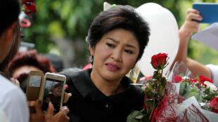 Former Thai PM Yingluck Shinawatra.