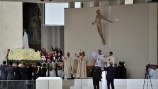 Papa Francisco nas cerimónias do Centenário das Aparições
